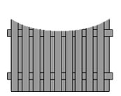 concave-double-sided-palisade-timber-fence-rotherham